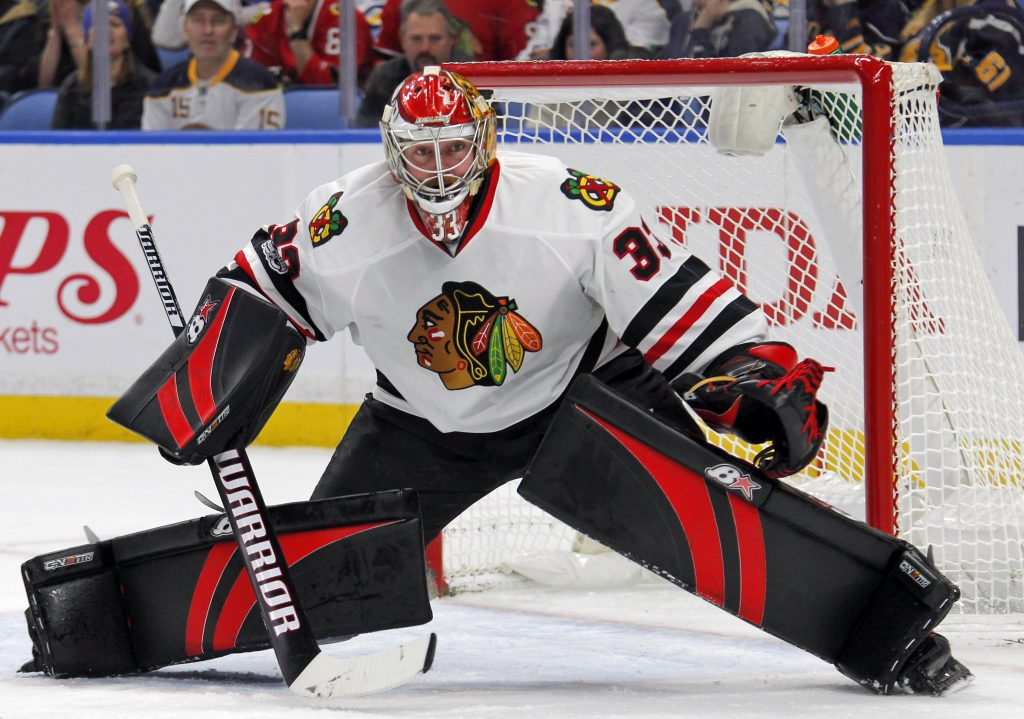 Scott Darling, the Chicago Blackhawks' longtime backup, is taking over as Carolina's top option following his April trade to the Hurricanes.