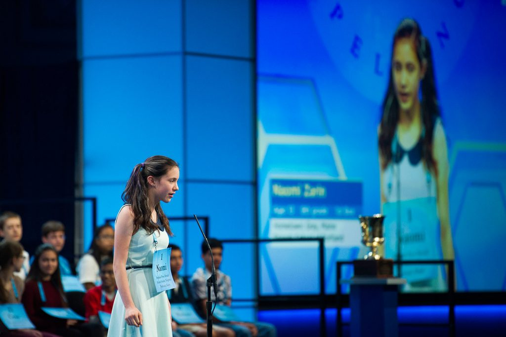 Paramountcy, stephanotis stump area students in national spelling bee