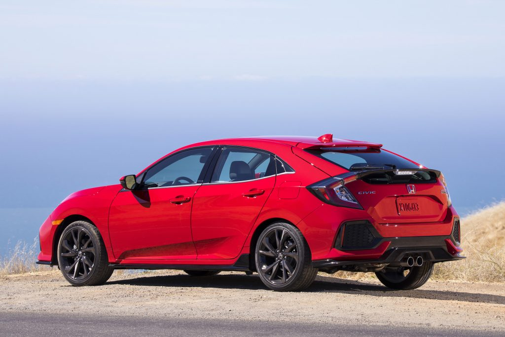 The price is $29,175 as tested. A base hatchback can be had for $19,700.