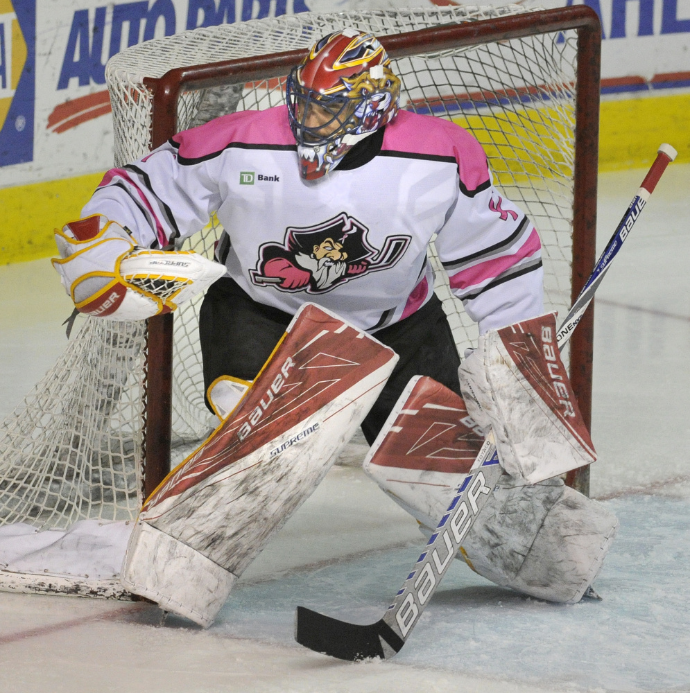 Mike McKenna, who won more games for the Portland Pirates than any other goalie, has helped the Syracuse Crunch reach the Calder Cup finals for just the second time in franchise history.