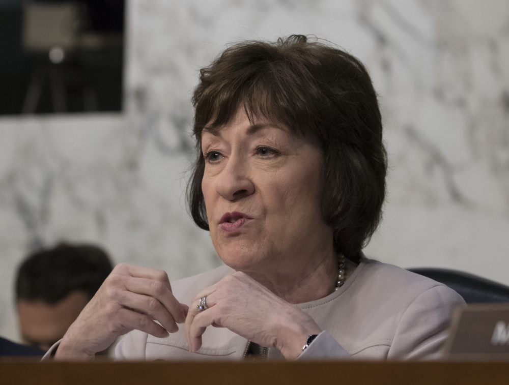 U.S. Sen. Susan Collins R-Maine asked a question of former FBI director James Comey on Thursday that elicited an interesting detail how Comey's memos describing his meetings with Trump came to be leaked to the press