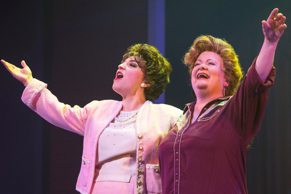 Christine Mild as Patsy Cline and Charis Leos as Louise in