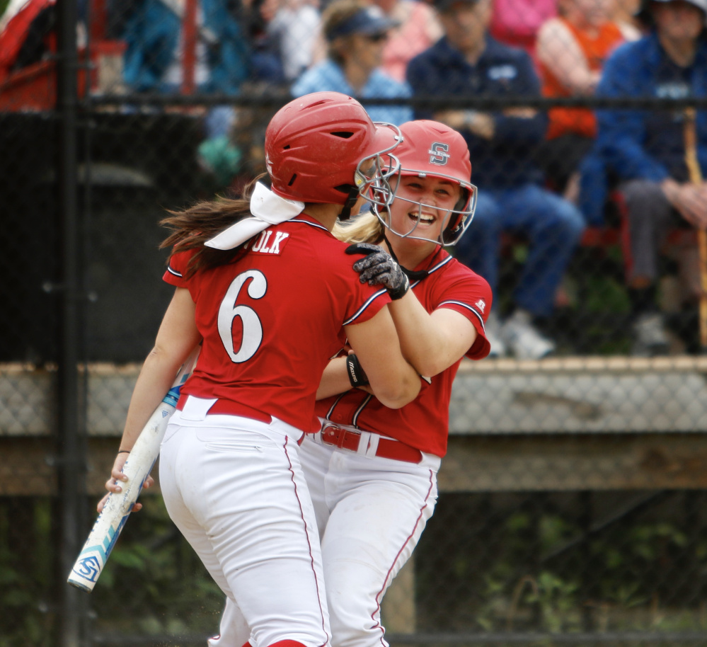 AUGUSTA — Scarborough High won its first Class A softball championship  since 2013 on Saturday 1fc7dd5bcfe8