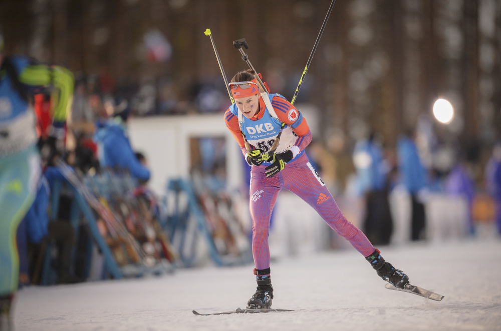 Clare Egan is currently ranked second in the United States among women and almost a shoo-in to be among the five female biathletes selected for the U.S. Olympic Team.