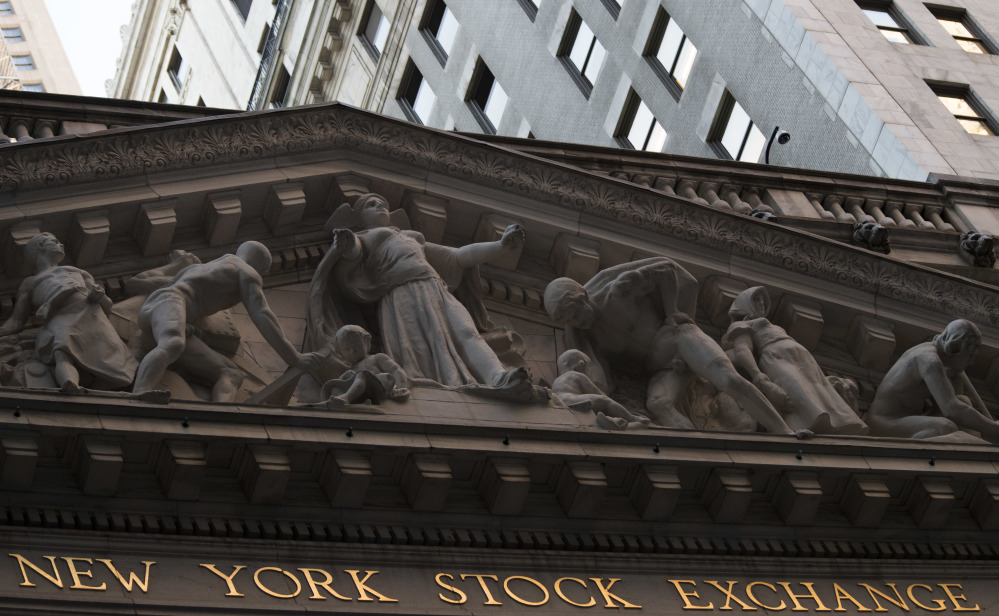 Losses were widespread across the stock market on Tuesday, with the sharpest declines in the energy sector, just a day after big gains from technology firms pushed indexes to their latest record highs.