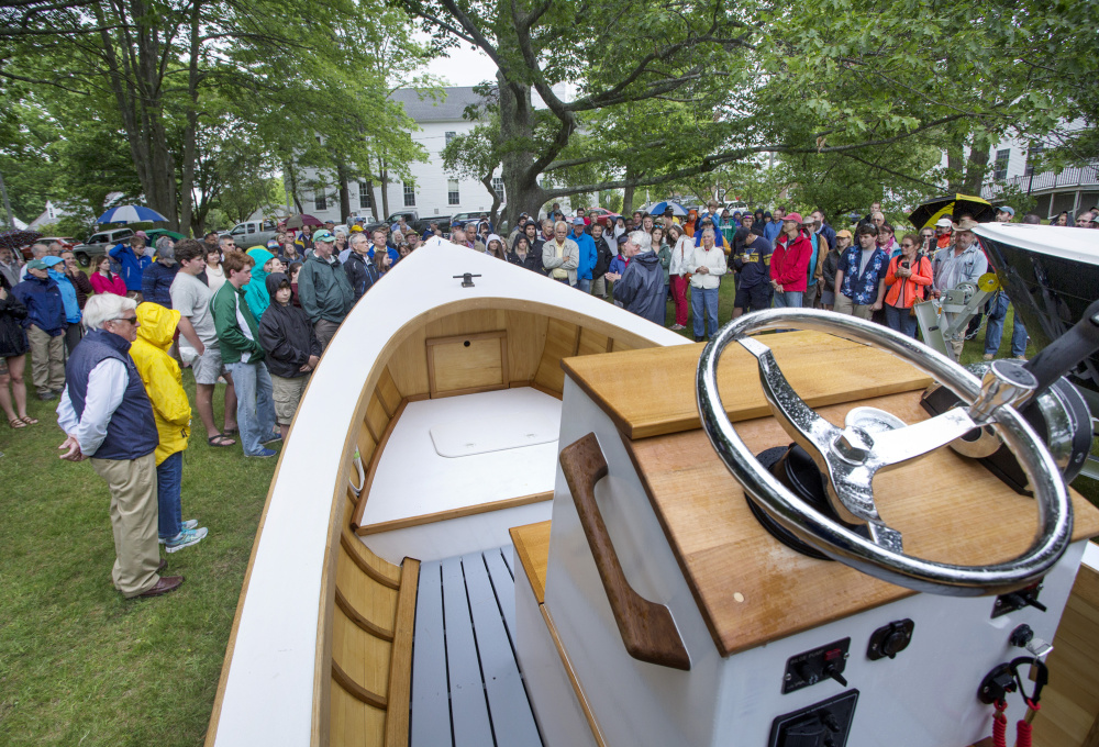 Maine institutions collaborating to build a greener lobster boat