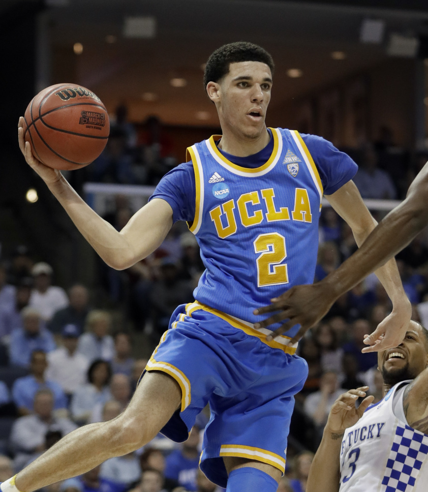 Lonzo Ball will get to stay home as he embarks on his pro career, as the Southern California native was drafted No. 2 overall by the Los Angeles Lakers.