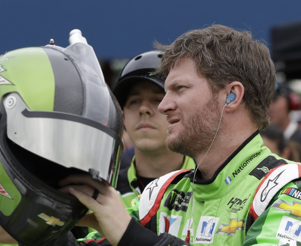 Dale Earnhardt Jr. is preparing for the second half of his final season on the NASCAR Cup Series and hopes to be remembered as an ambassador for auto racing.
