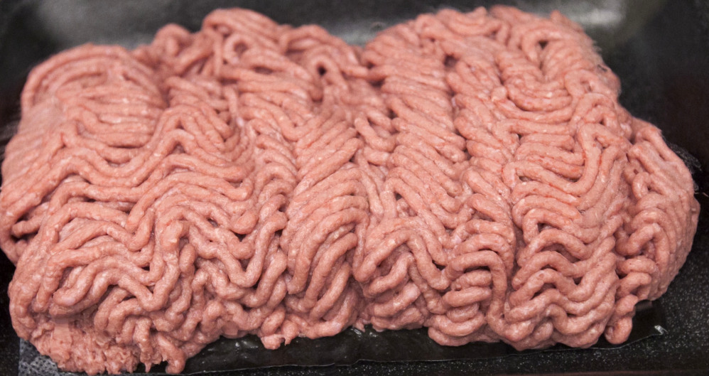 Beef Products Inc. says its lean, finely textured beef product is made from trimmings left after a cow is butchered. The meat is separated from the fat, and ammonia gas is applied.