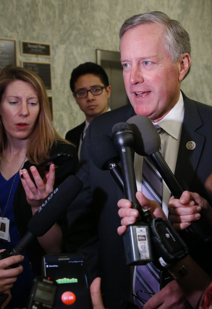 Rep. Mark Meadows, House Freedom Caucus chairman, wants to cut $300 billion from welfare programs.