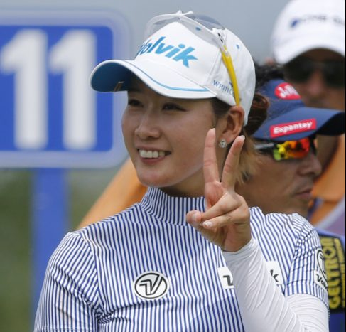 Chella Choi of South Korea shot a 5-under 66 in the first round of the KPMG Women's PGA Championship on Thursday to tie for the lead.
