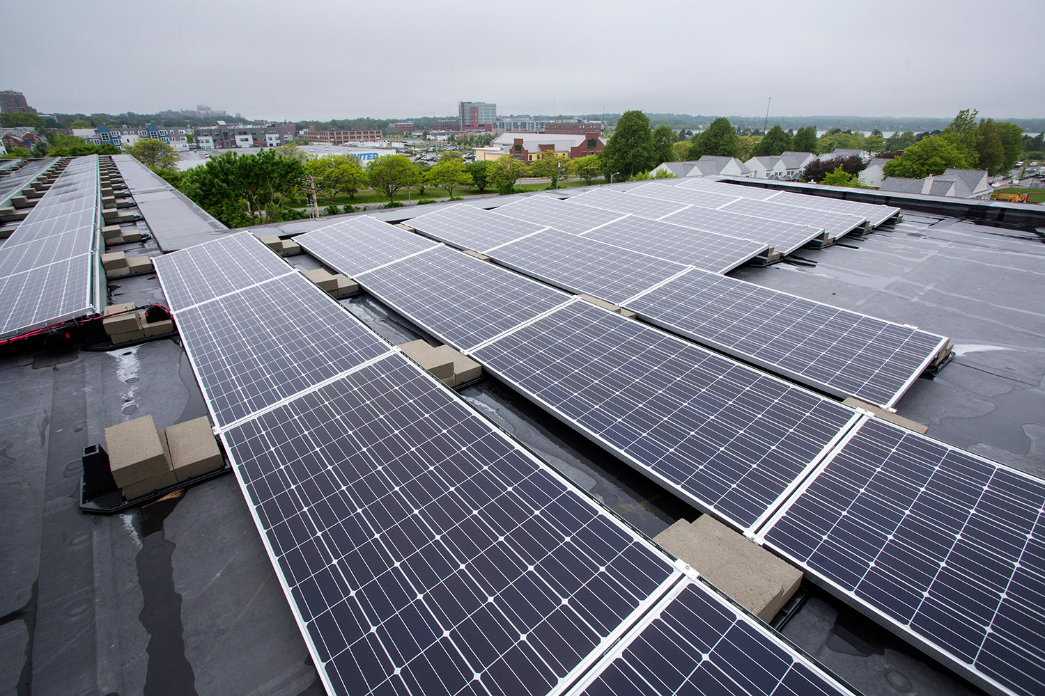 Portland to unveil affordable energy efficient apartments for Solar energy portland