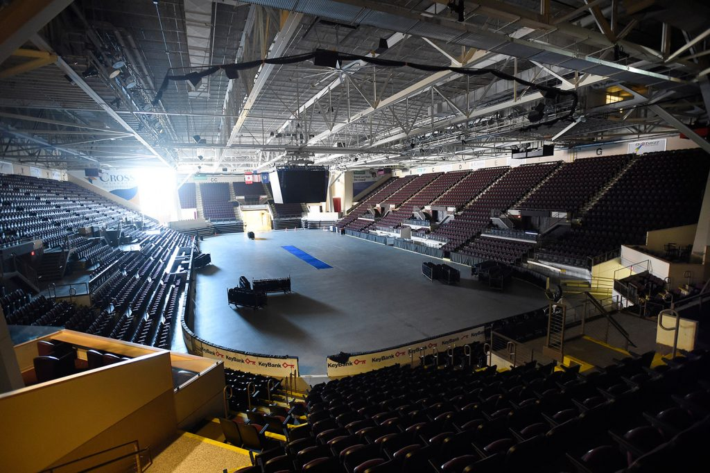 Portland's Cross Insurance Arena, which was empty Thursday, will host pro hockey again starting with the 2018-2019 season.