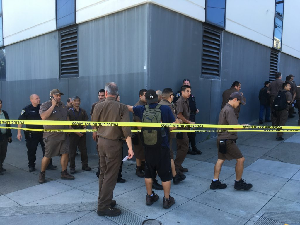 Gunman kills 3, then self at San Francisco UPS facility, police say