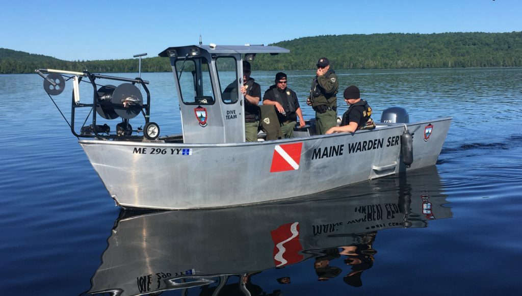 The Maine Warden Service Dive Team recovered the body of Mark Chambers from Square Lake on Sunday.