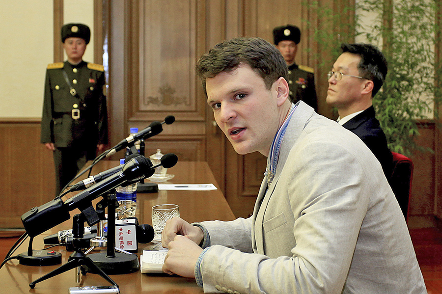 UVA issues statement student held by NKorea