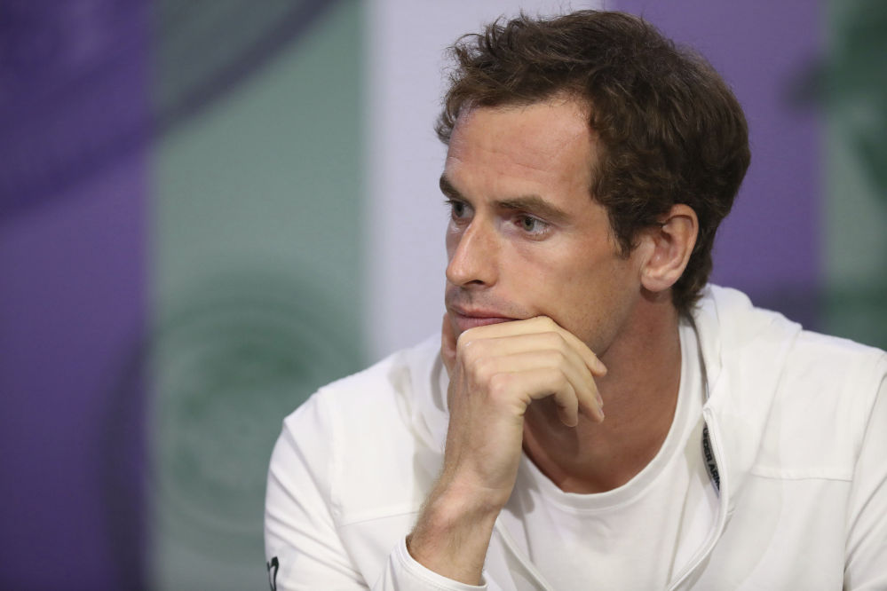 Andy Murray has been injured and inconsistent this season and has a lot on his mind heading into Wimbledon, where he begins his title defense Monday.