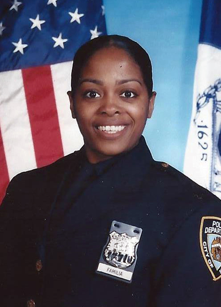 Officer Miosotis Familia in an undated photo.