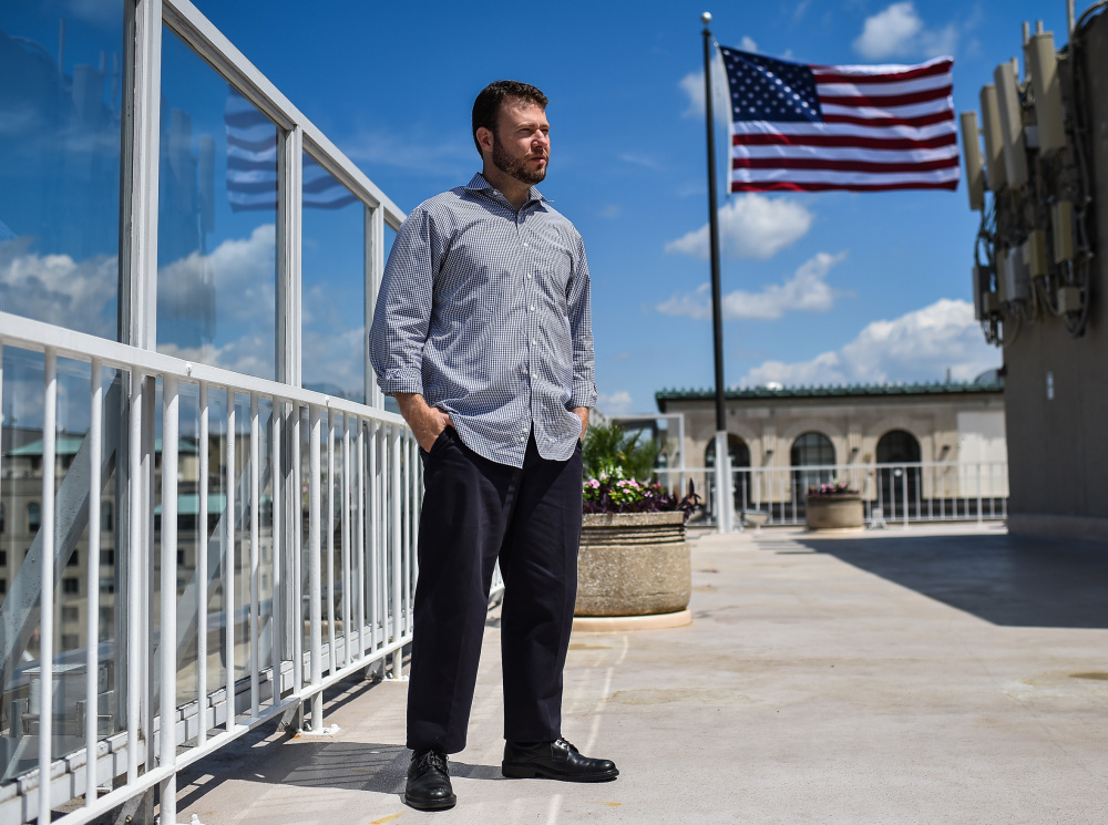 Ismail Royer, 44, was in prison from 2003 to 2016 on terror-related convictions. He now works for the Center for Islam and Religious Freedom in Washington, opposing extremism.