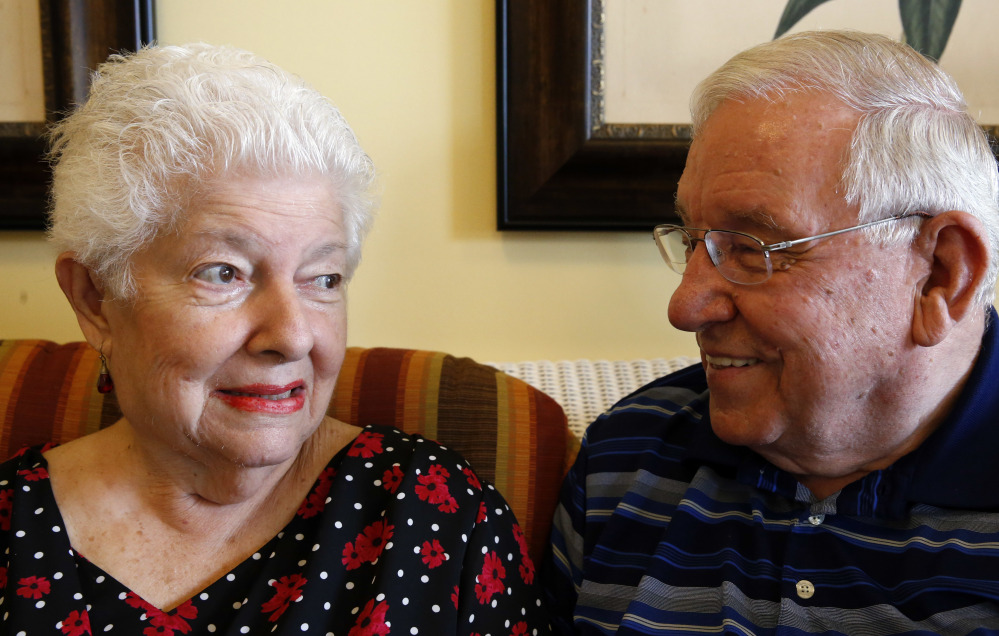 Medicaid pays most of the costs for Cathy and Chuck Schwarz at Heritage Woods, an assisted living residence in South Elgin, Ill.