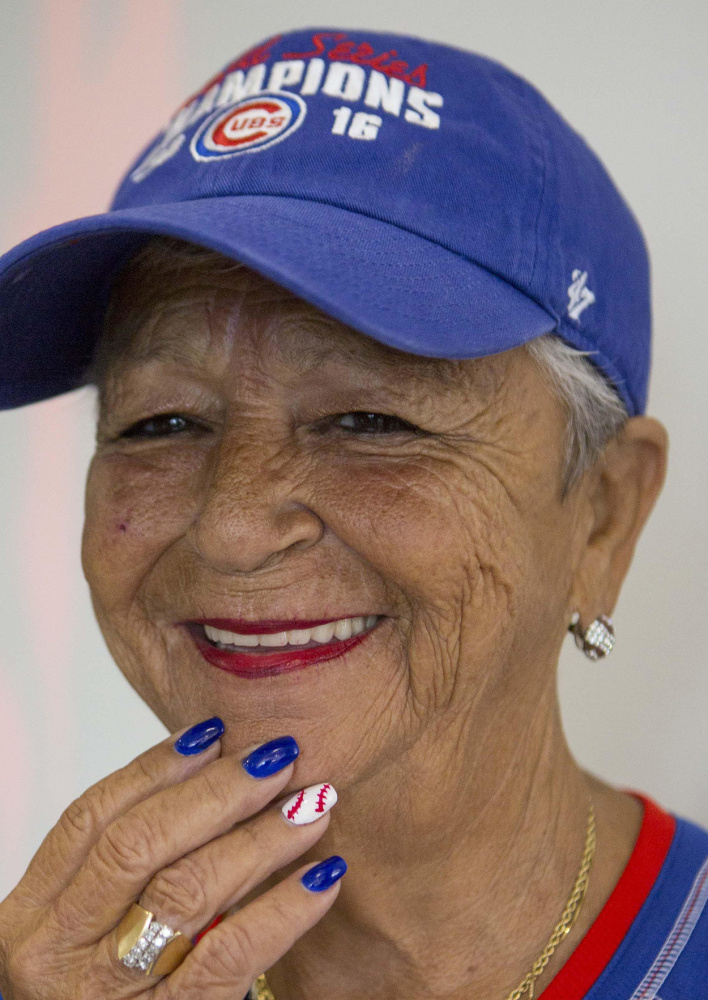 Jean Marie Tidbit Carrino, 62, drove to Miami from St. Louis to attend Tuesday night's All-Star Game. Carrino, a Cubs fanatic, will have attended 55 consecutive All-Star Games since she was 8.