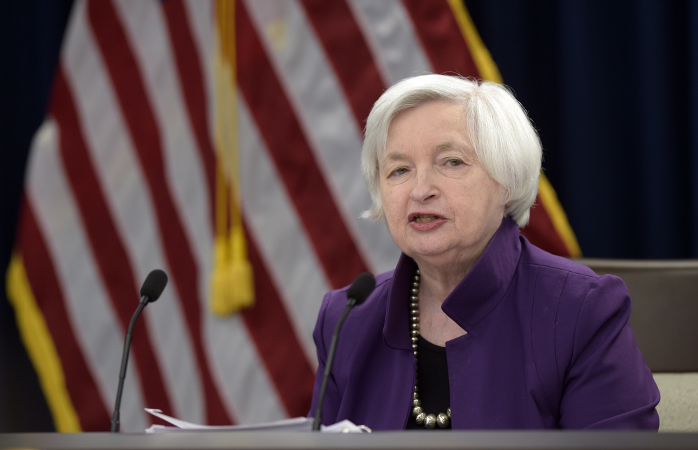 Federal Reserve Chair Janet Yellen told Congress on Wednesday that the central bank expects to keep raising a key interest rate at a gradual pace.