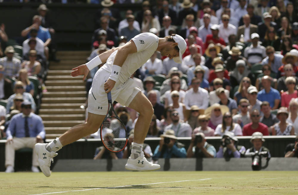 Wimbledon day nine: Andy Murray upset in quarterfinals