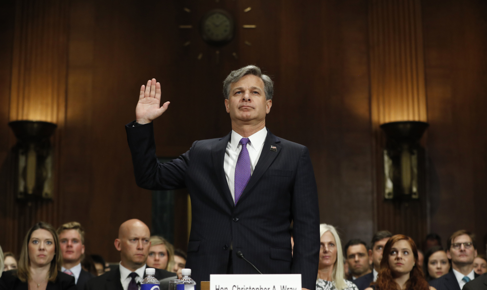 FBI Director nominee Christopher Wray swears that he will not cover up wrongdoing by the Trump administration. Will other Republicans make the same commitment?