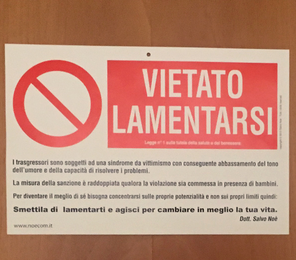 Sign on Pope Francis's Vatican door tells visitors: 'No whining'