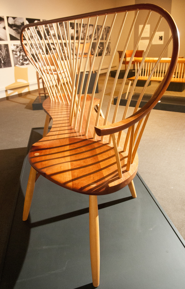 Maine State Museum Exhibit Showcases The Art Of Wood