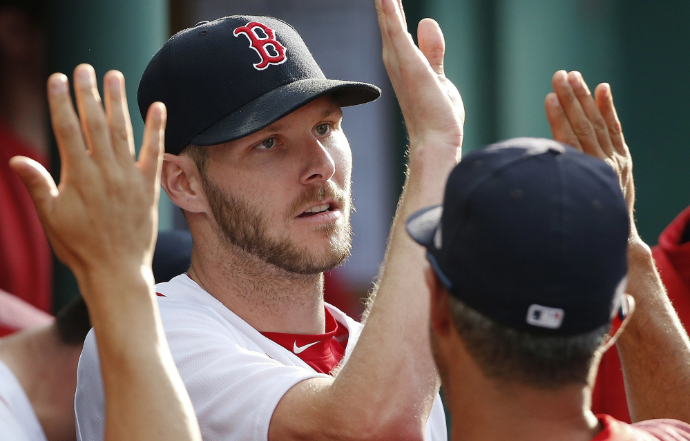 Chris Sale had another great outing and another game without run support Saturday against the Yankees. This Red Sox team without a big bopper will have to get more good pitching and scratch out runs to make a run in the AL East.