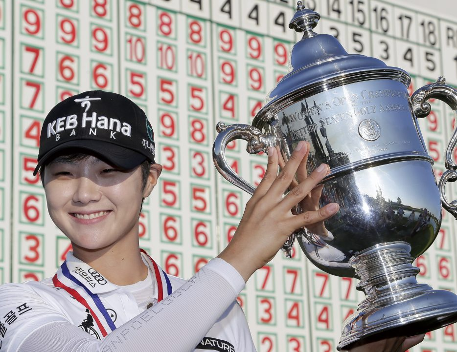 Korea's Park on golf championship win