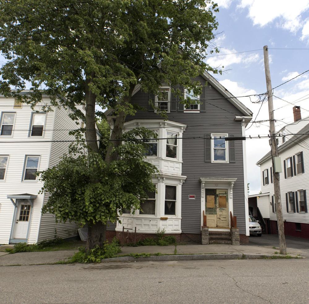 The multifamily home at 31 East Oxford St. has been deemed a