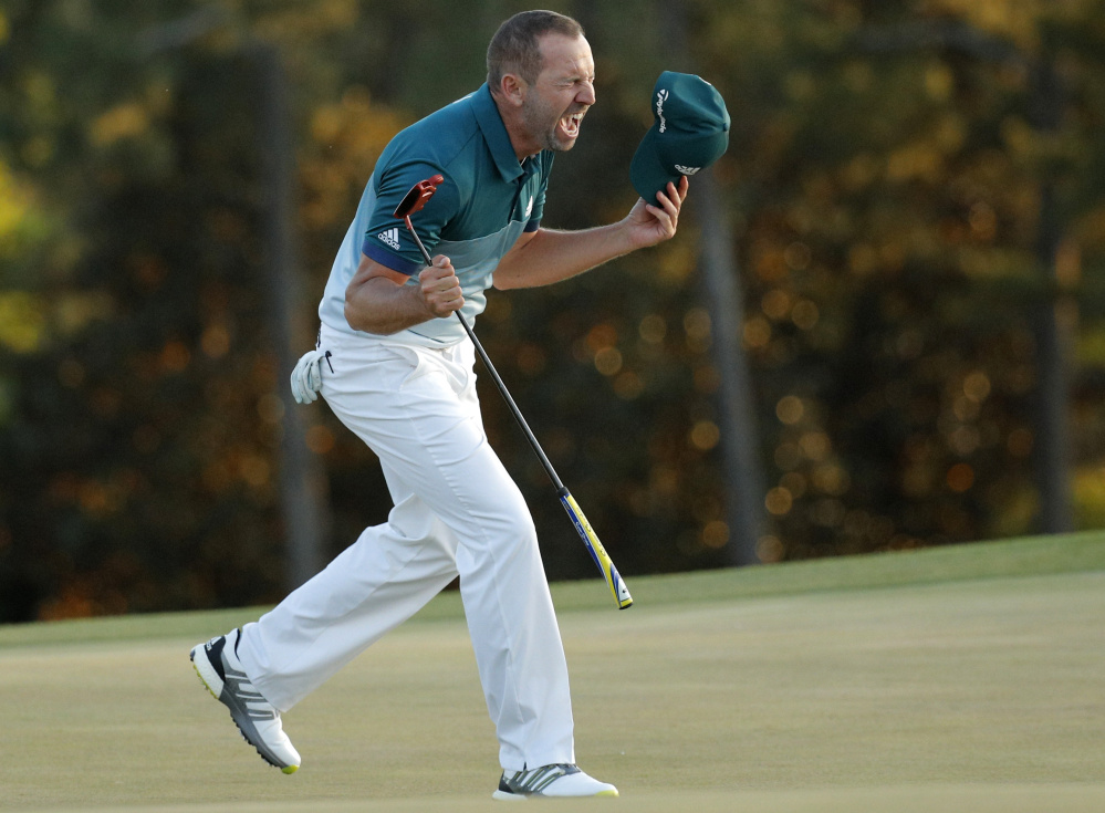 Sergio Garcia won the first major of his career at the Masters earlier this year. The 36-year-old from Spain grew up watching the British Open and would like nothing more than to capture the claret jug this weekend.
