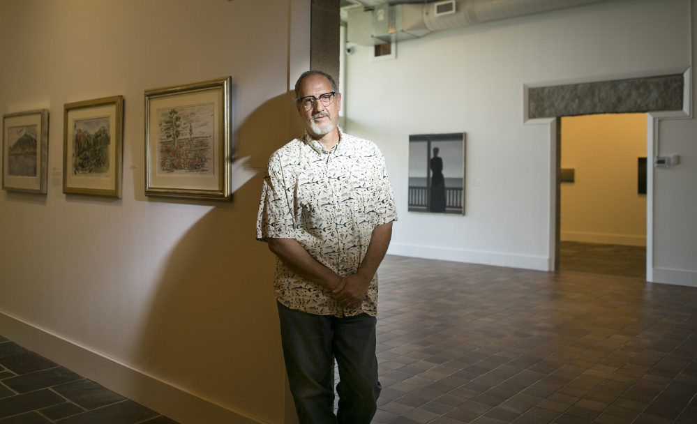 Press Herald arts reporter Bob Keyes visits the Ogunquit Museum of American Art. The Leo Rabkin Prize won by Keyes recognizes