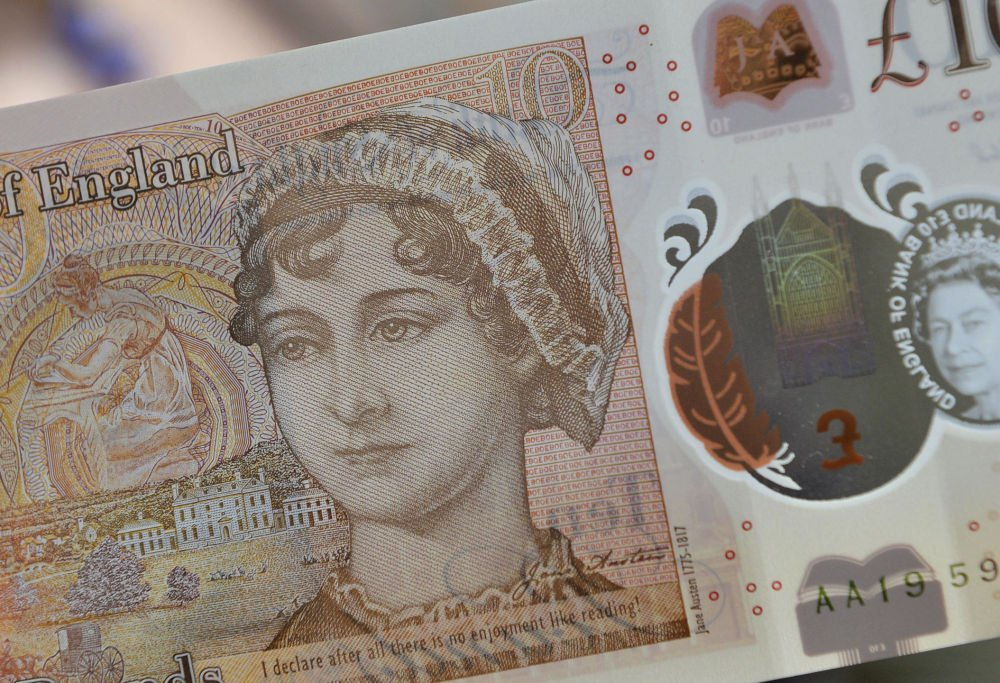 Jane Austin the new face of Britain's tenner