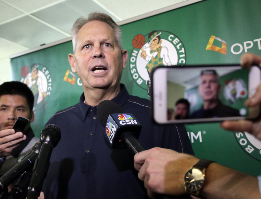 They're not there yet, but Danny Ainge and the Boston Celtics are improving each year. Last summer it was the acquisition of Al Horford and this summer Gordon Hayward, setting the team up to make a run at the finals.