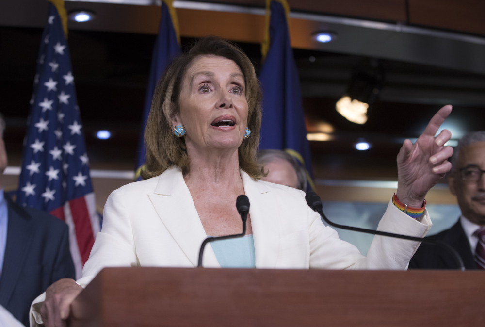 House Minority Leader Nancy Pelosi, speaking on Capitol Hill on Thursday, said Democrats are ready to work on health care reform in a bipartisan way but haven't heard from Republicans.