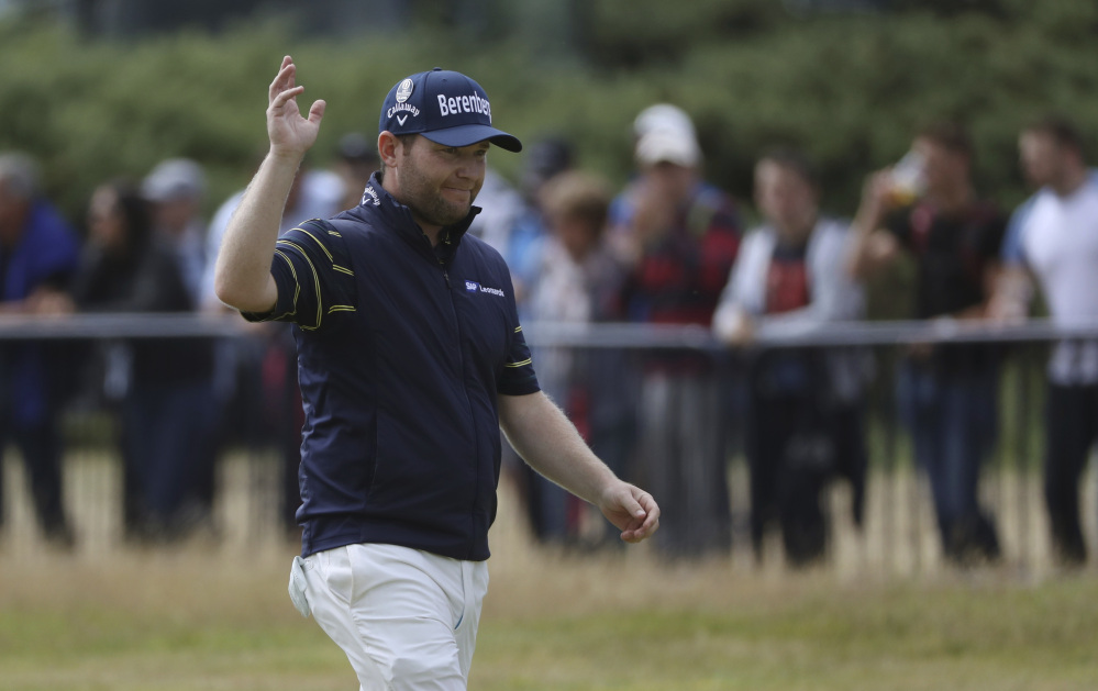Jordan Spieth avoids another major meltdown to win British Open