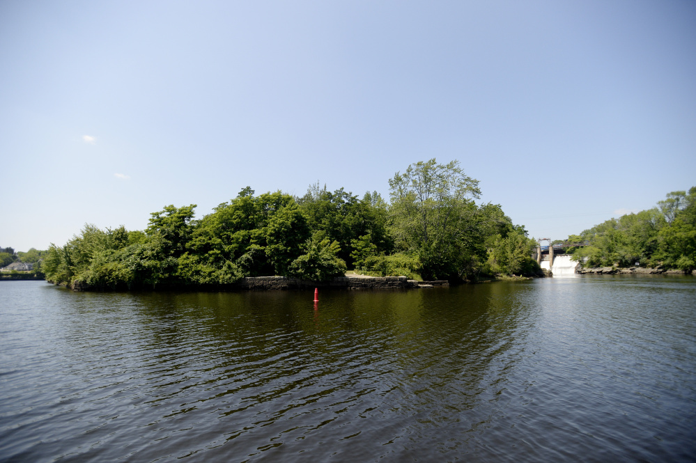 A local developer sees Saco Island as ripe for mixed uses.