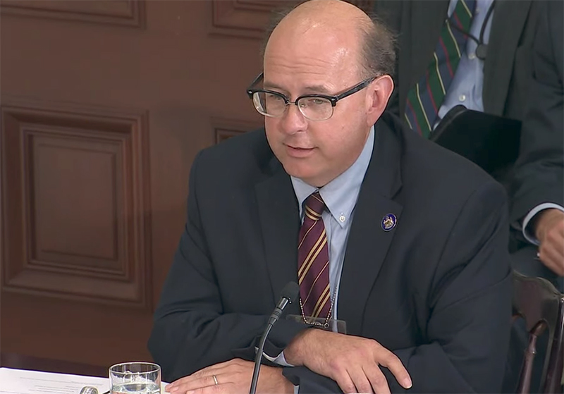 The Election Integrity Commission's members include Maine Secretary of State Matthew Dunlap.