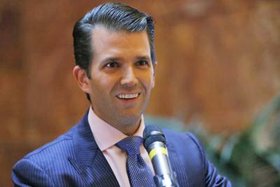 "Donald Trump Jr. responded to a music publicist's email suggesting he meet with a lawyer who had dirt on Hillary Clinton as ""part of Russia and its government's support for Mr. Trump"" by saying he would ""love"" to hear more."