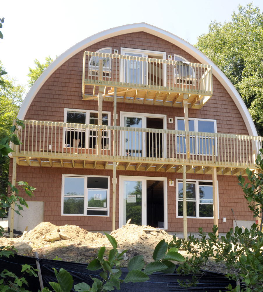 High Efficiency Home In Monmouth Portland Press Herald