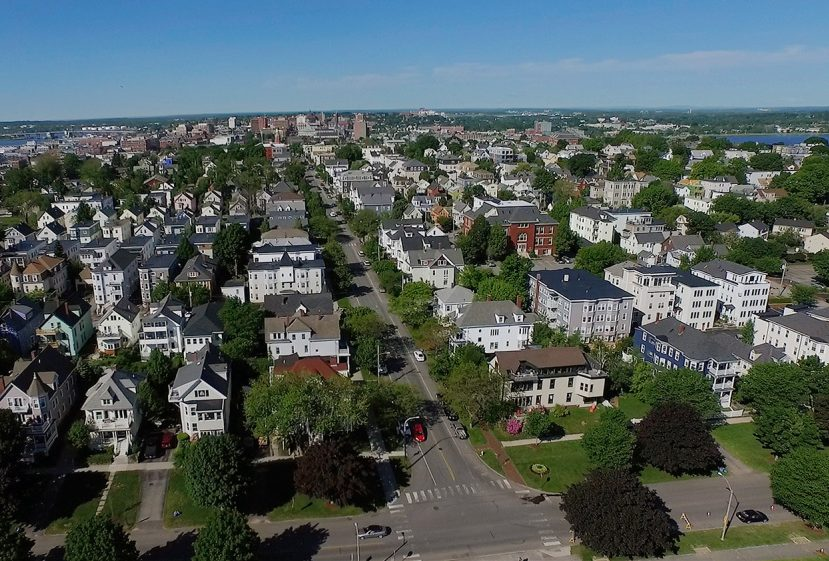 Fair Rent Portland hoped to get its rent stabilization measure on the ballot, in an effort to address soaring rents that have occurred in places like Munjoy Hill.