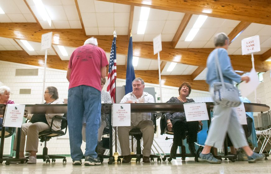 The state knows a lot of private information about who votes. It doesn't make sense for the government to sell some of that data to political campaigns, but tell ordinary citizens that it's off limits to them.