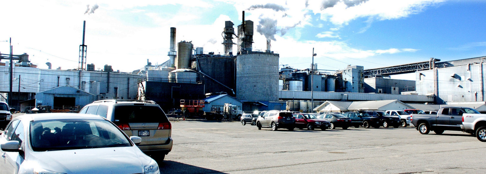 The Androscoggin Mill in Jay on Nov. 1, 2016. The mill may be in line for investment based on its recent performance producing specialty papers.