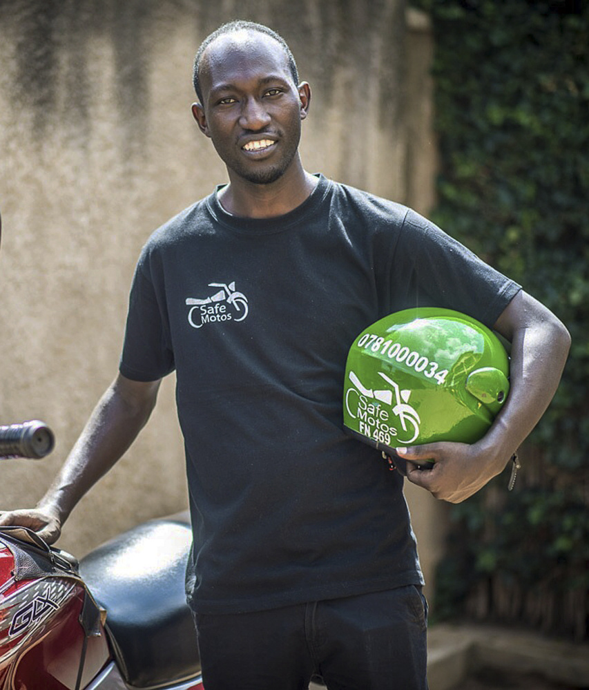 Student Sadiki is one of the first graduates from the Southern New Hampshire University and Kepler higher education program at Kiziba Refugee Camp in Kigali, Rwanda. As part of his education, Sadiki held an internship with SafeMotos, a tech start-up company.