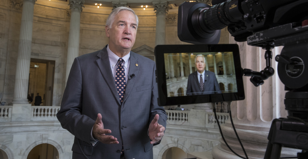 Trump doubles down on support for struggling Luther Strange