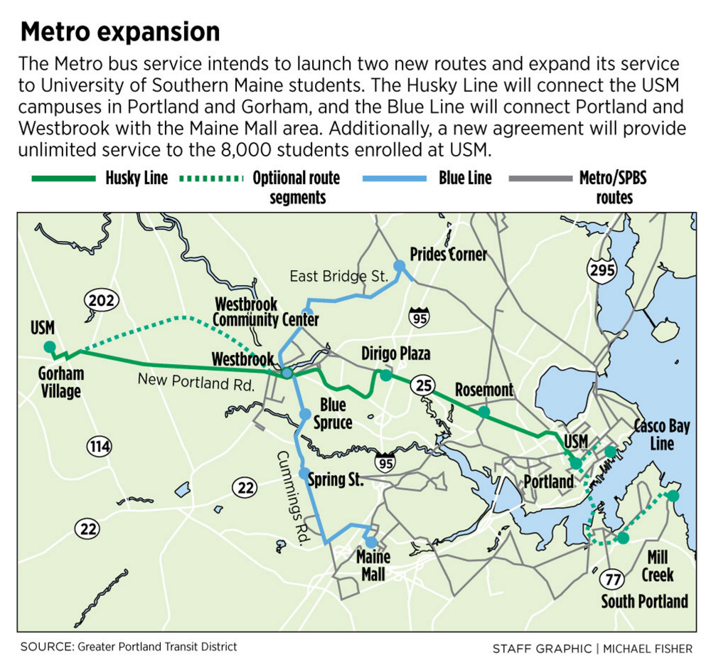 Metro Bus Service To Launch Major Expansion To Gorham