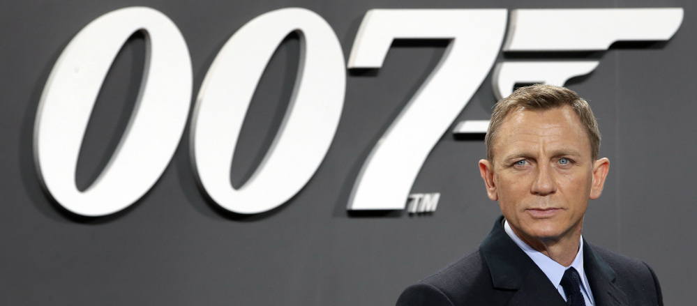 Daniel Craig, who told Time Out London in 2015 he'd rather slash his wrists than do another Bond film, is doing one.